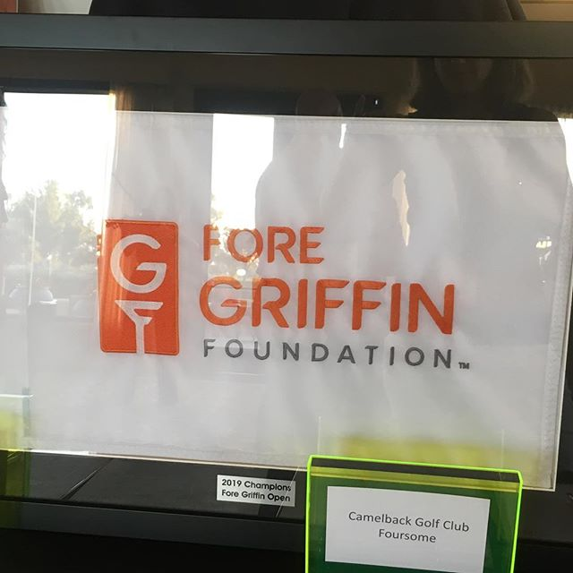 Thanks to our amazing friends (both old & new) and family that came out to support the kickoff of @foregriffin Foundation. We had an amazing 2 days w all of you!  Thanks for all of your support!'