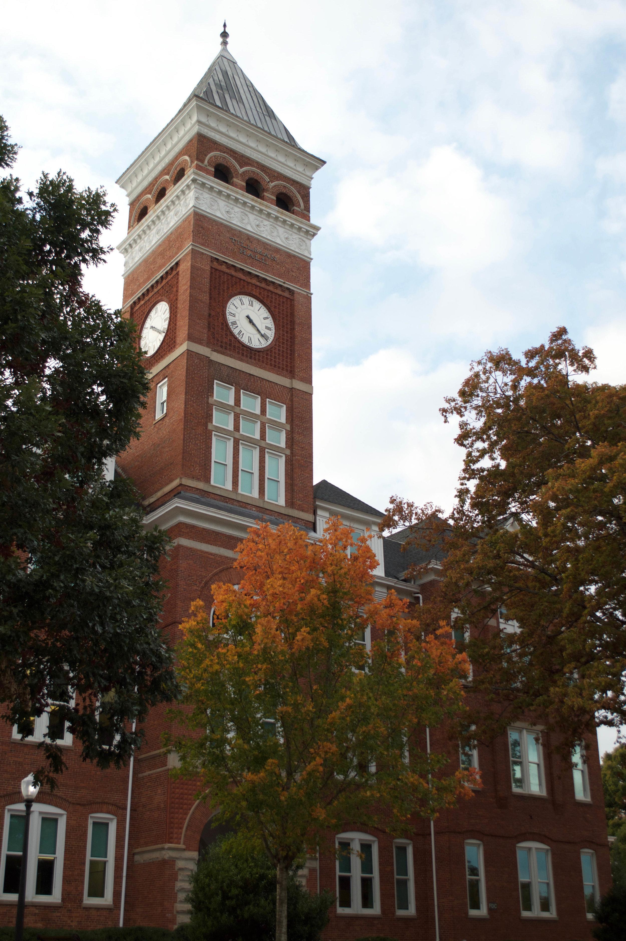 Tillman Hall (Photo Credit: Collin Griggs)