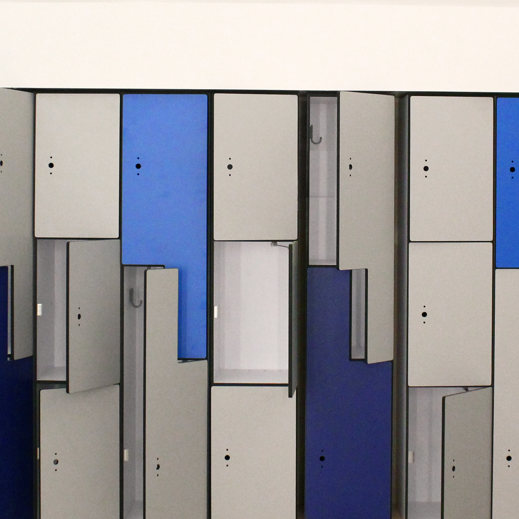 Image of lockers.