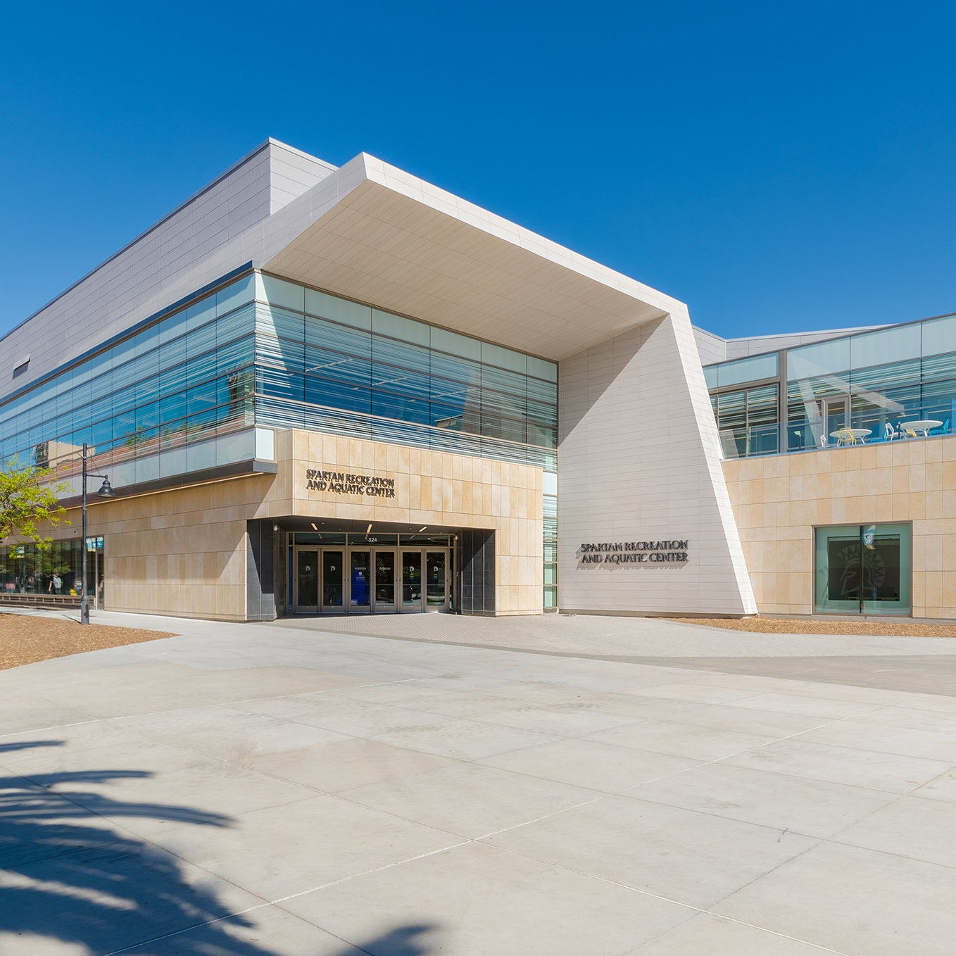 photo of the spartan recreation and aquatic center