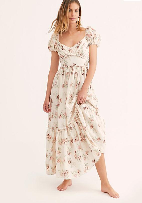 Angie Linen Dress