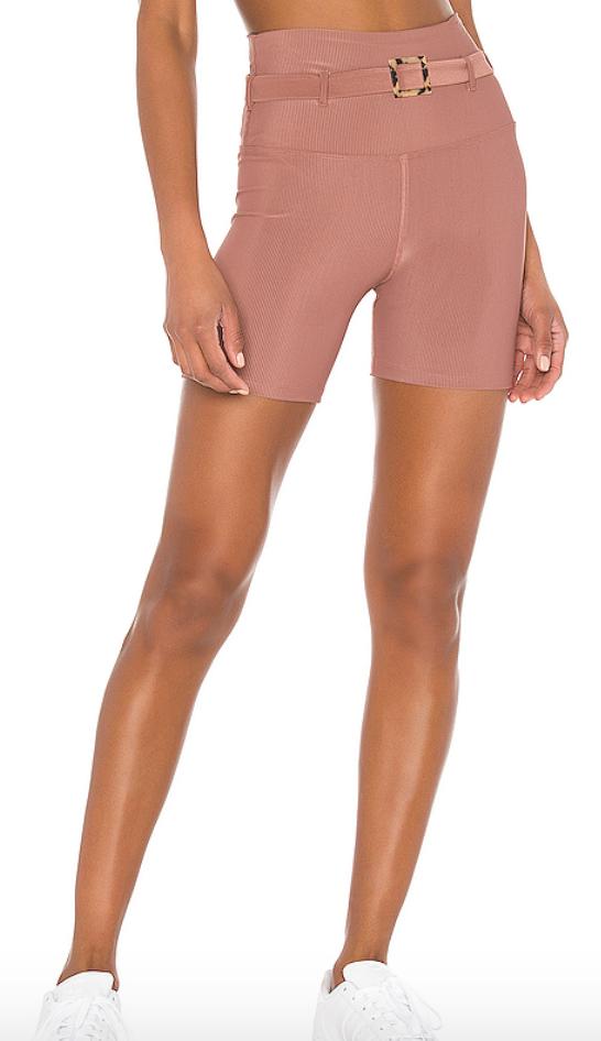 Revolve Pink Biker Short