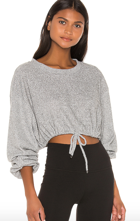 Revolve Grey Sweatshirt