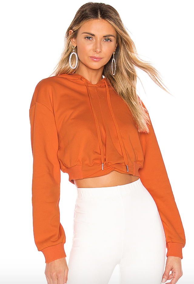 Revolve Orange Sweatshirt