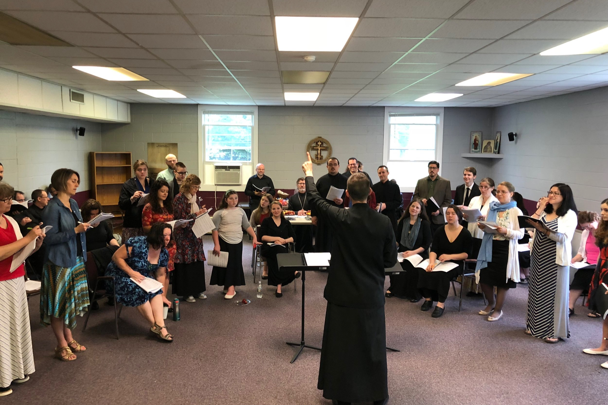 St. Tikhon's PILGRIMAGE CHOIR - Do you love church singing? Do you want to deepen your understanding? Do you want to sing with world class singers? Register today for the 2019 St. Tikhon's Pilgrimage Choir.
