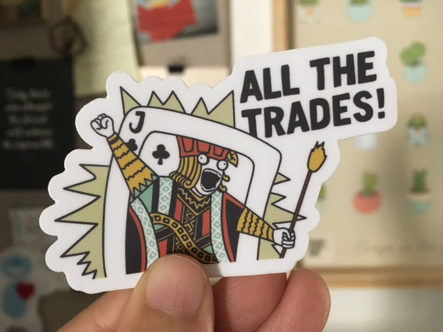 Lynn made these stickers, and they are awesome, and  you can have your very own .