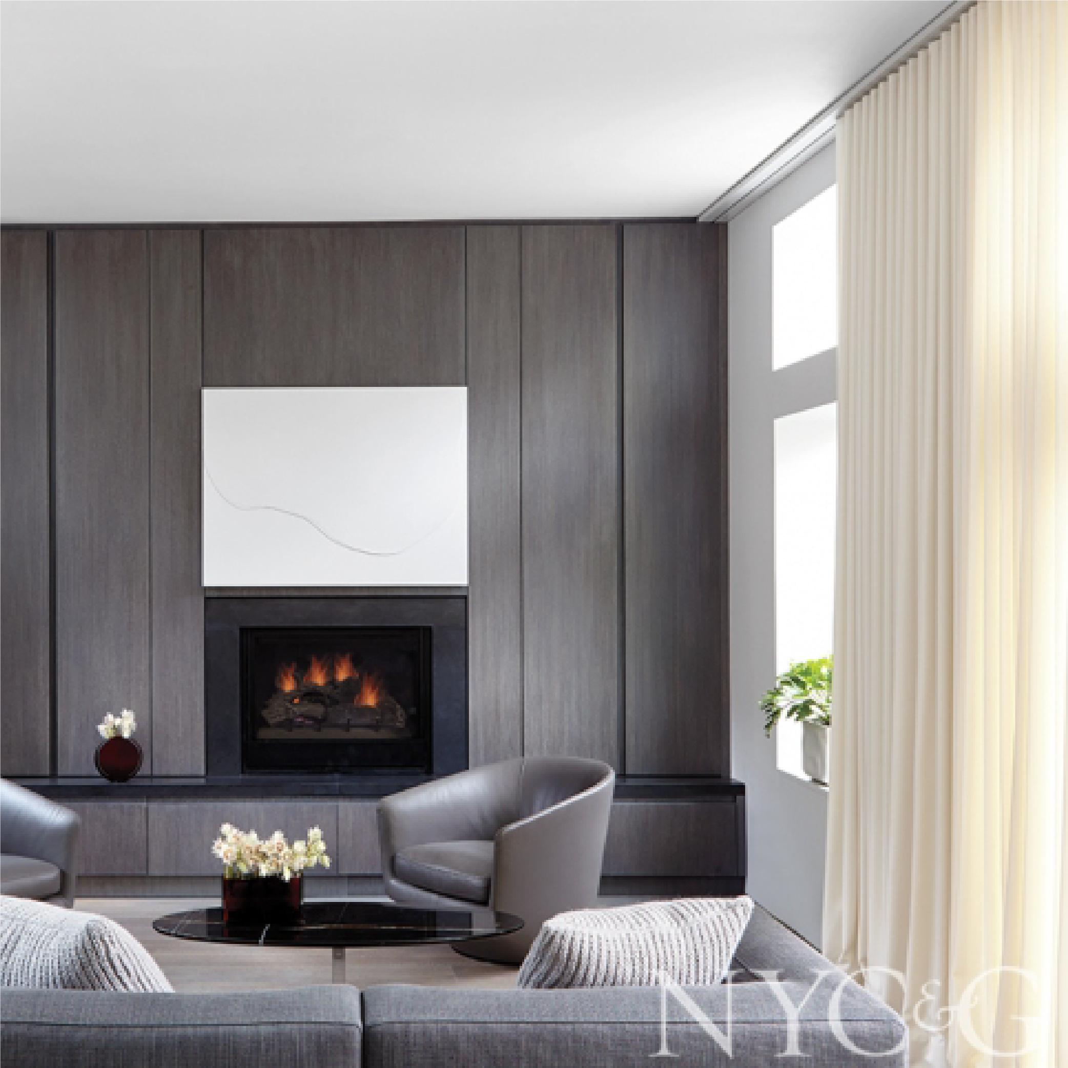 Fireplace artwork