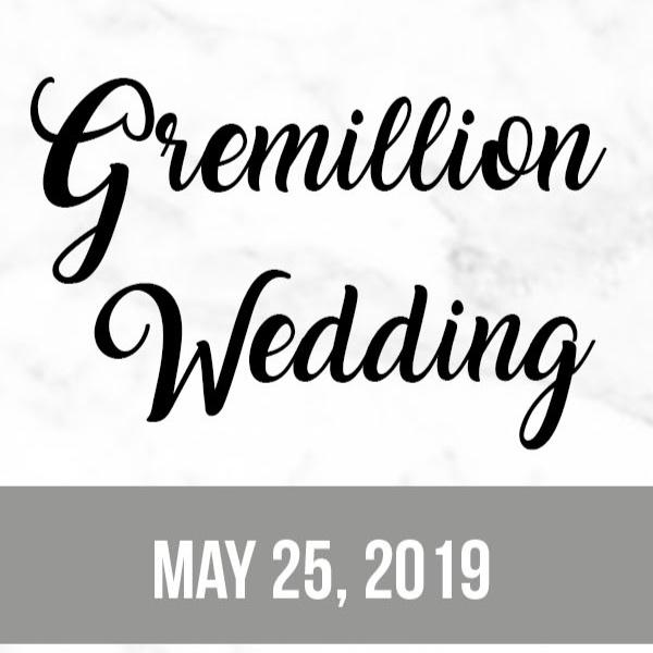 Gremillion Wedding