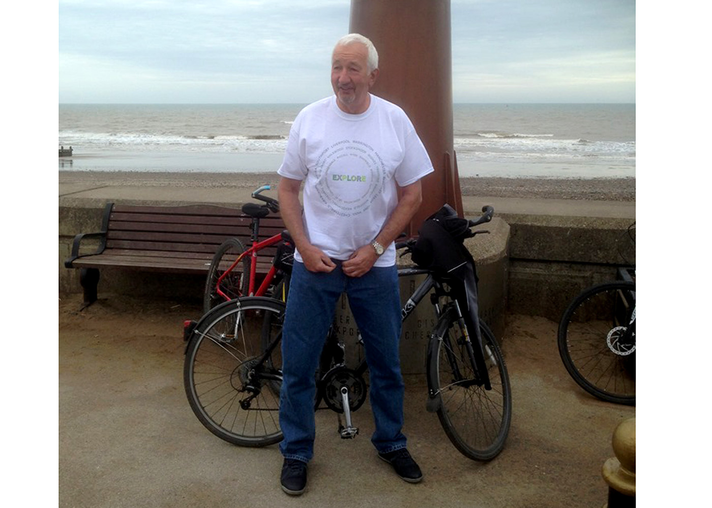 Congratulations.Paul completes Charity Bike ride. - 16th May 2019