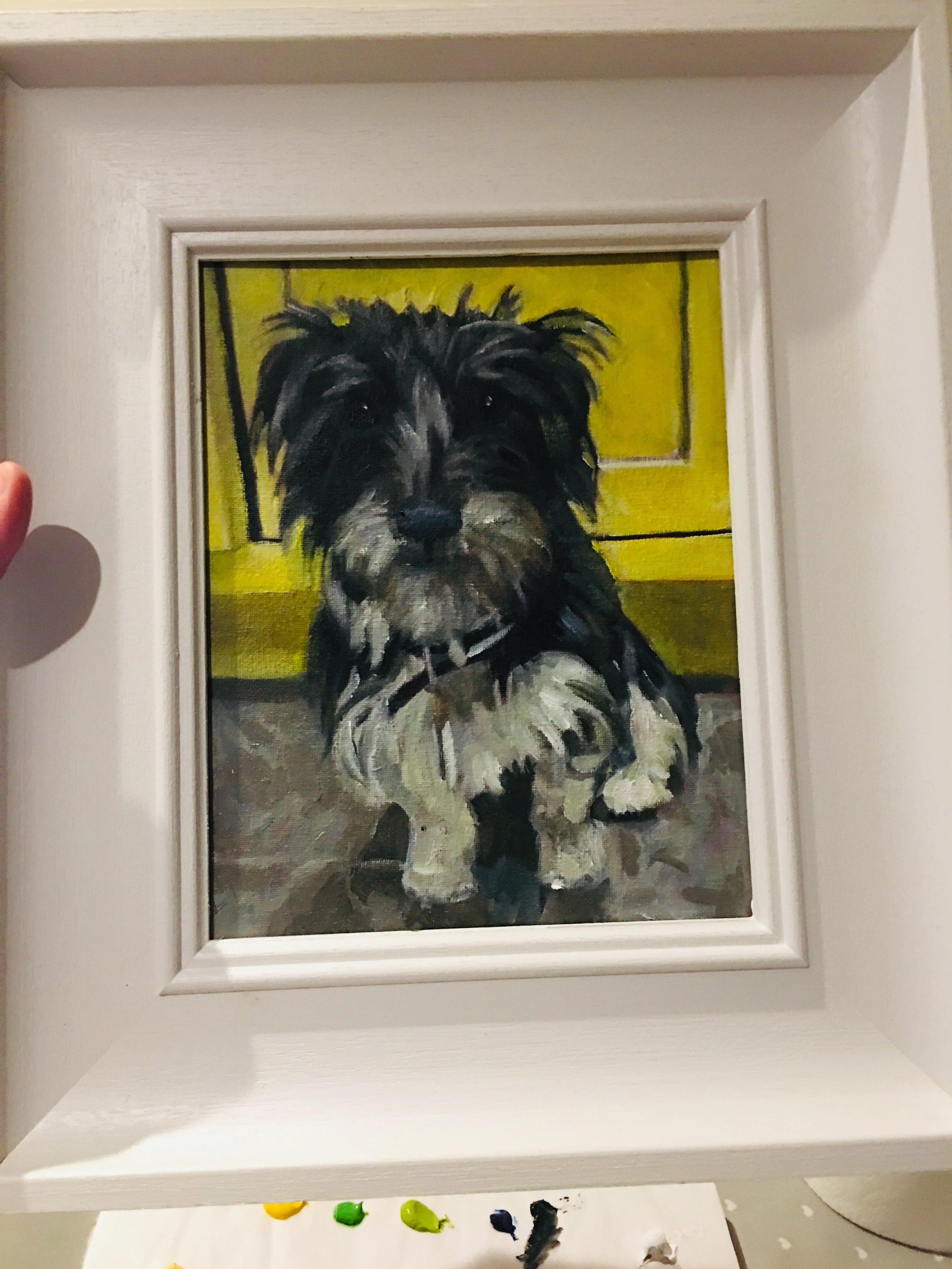 Dixie Dog Pet Pawtrait Commission