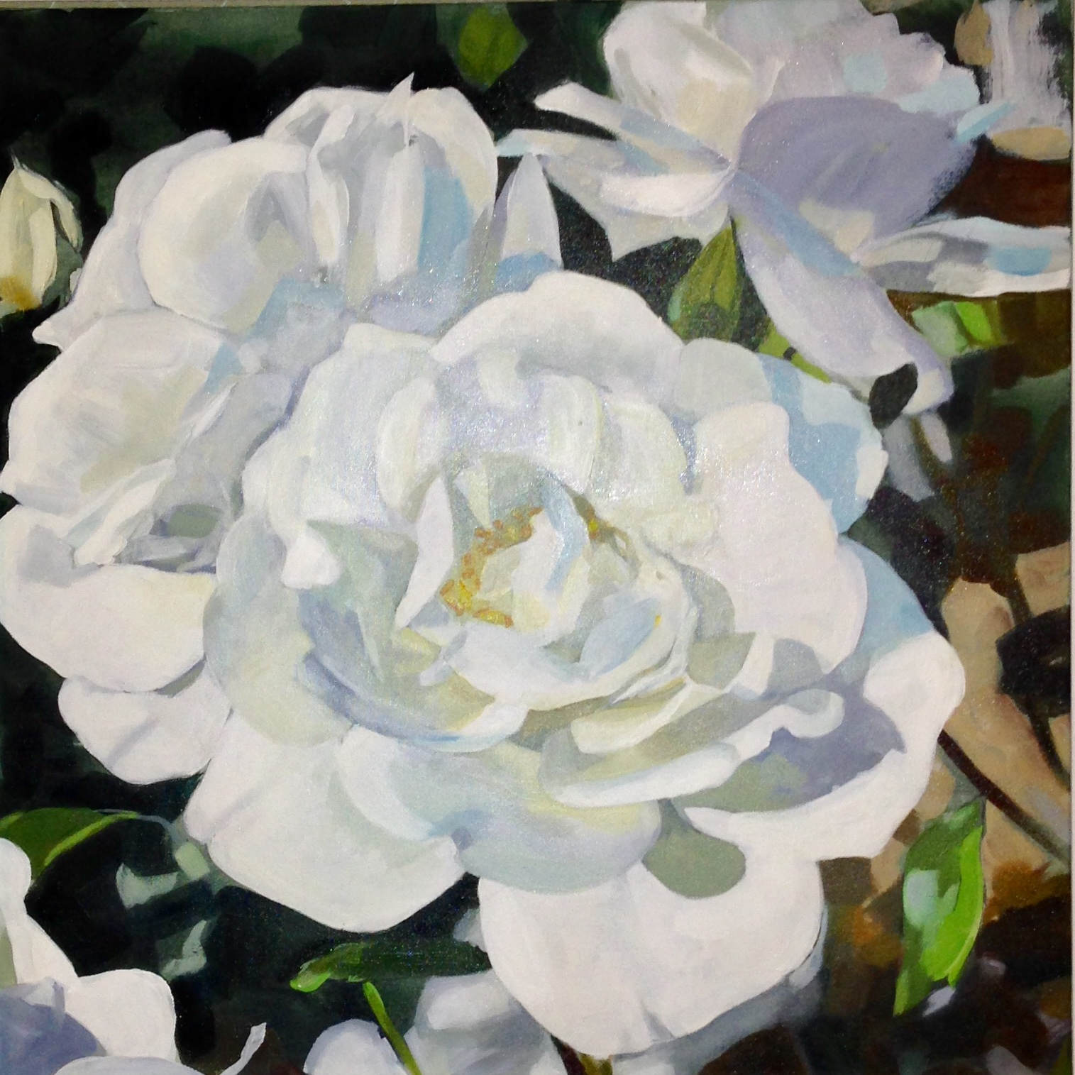'Romantic Rose' Oil Painting & Prints
