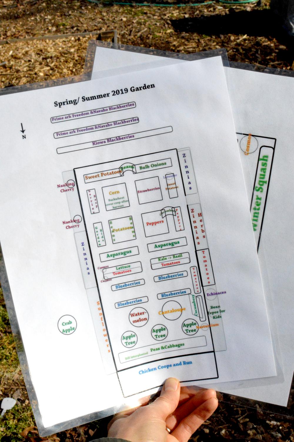 My Laminated Garden Guides