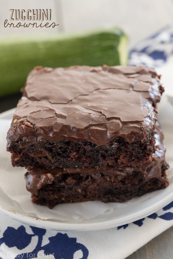 Photo Courtesy of crazy for crust- Sweets #5- Zucchini brownies