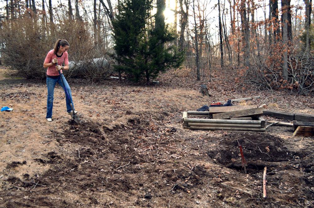 Building our Garden- February 2014