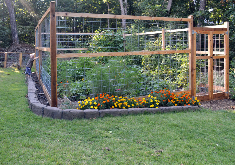 Finished Garden August 2014