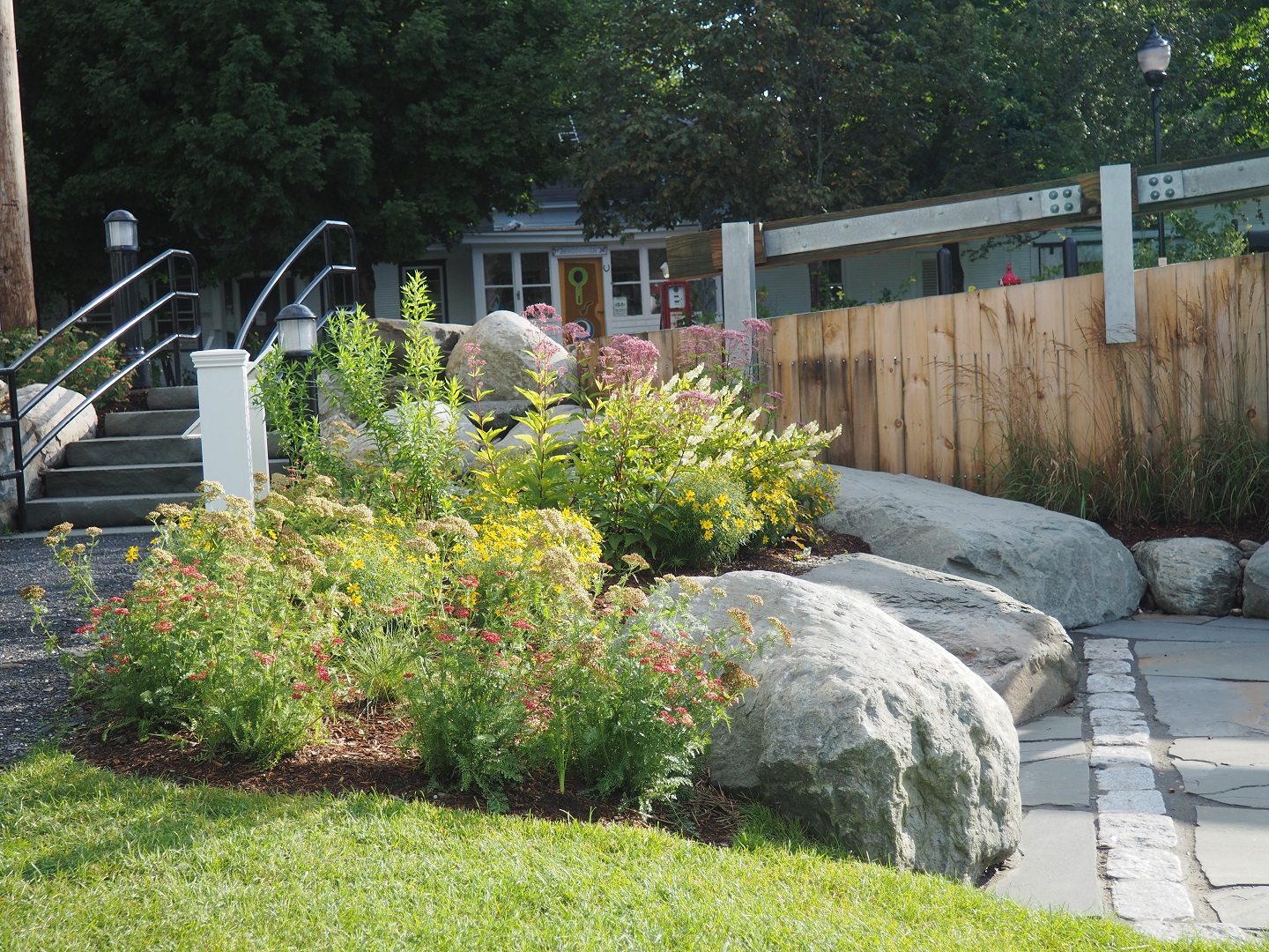 Commercial landscape maintenance in Colchester, VT