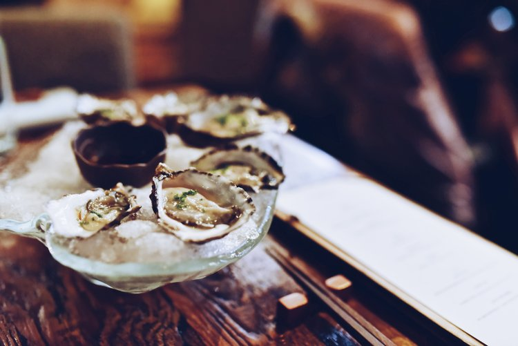 Oyster Wednesdays (yes every Wednesday)