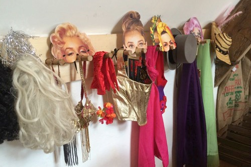Photo booth – you have use of our large picture frame, brightly coloured drapes forming a back drop, LOADS of props and pictures frames for you to take your own pictures.