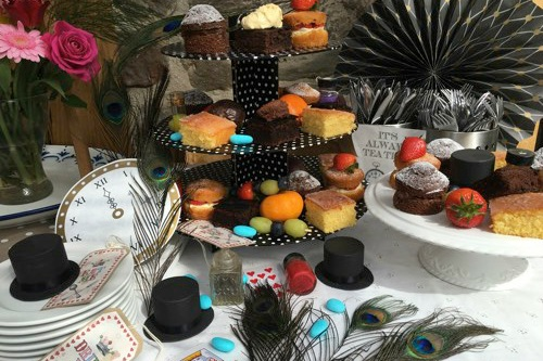 Catering & locally produced artisan food at Mill End by Bordello Banquets - mad hatters high tea