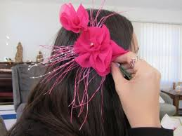 Copy of french knickers or fascinator making class  Decorate and trim french knickers or create a fascinator or corsages to wear to a wedding
