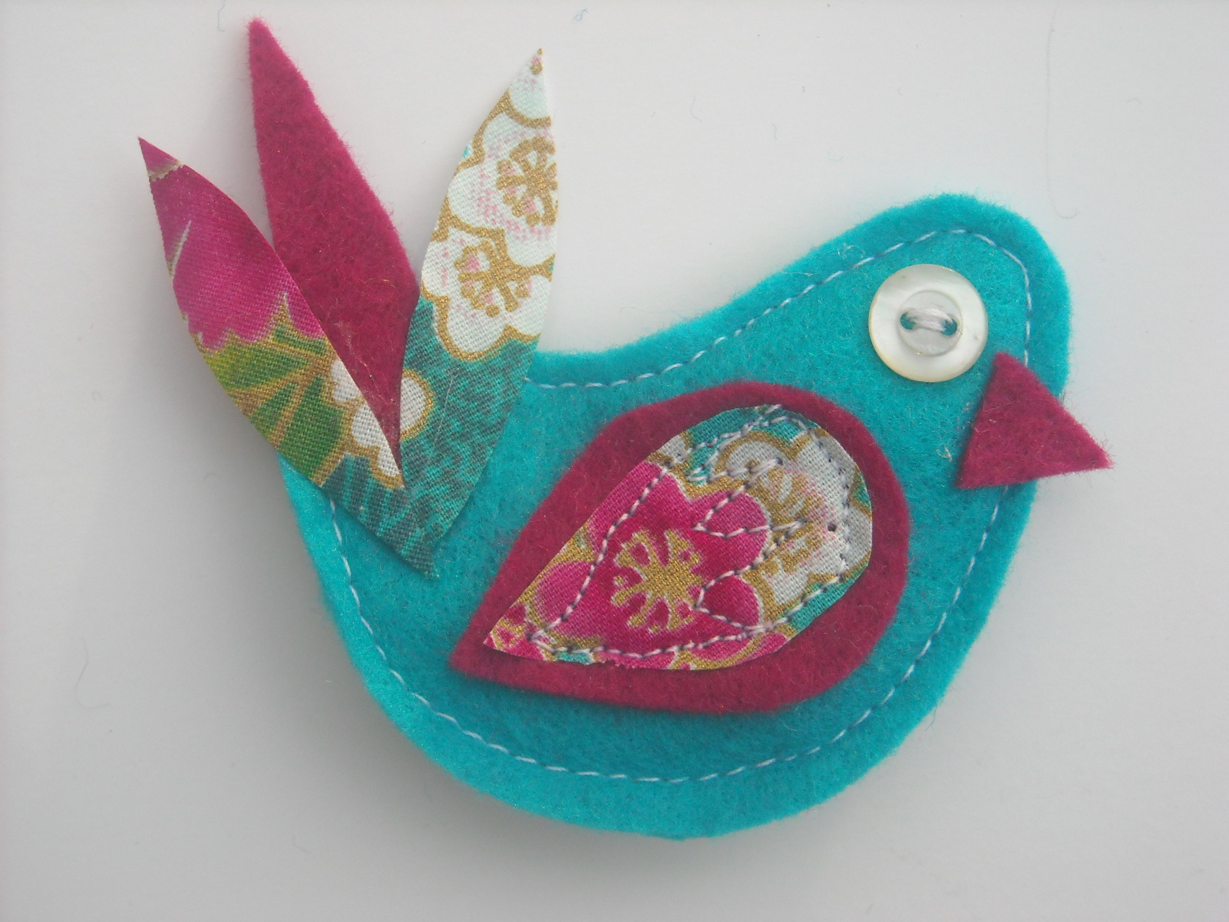 Copy of craft class  Up-cycled Uplifters, Felt Brooches or Mosaic Madness and more by Rachel Shilston - Inspiring Creativity