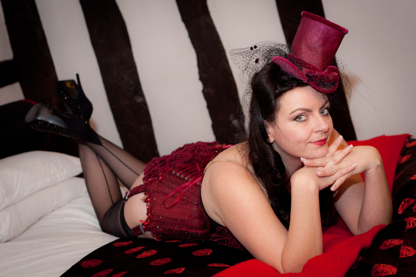 You can hire the services of local Boudoir photographer Kathryn Goddard for individual boudoir photo shoots, either using your own clothes or hiring costumes and styling from Liz Lewitt.