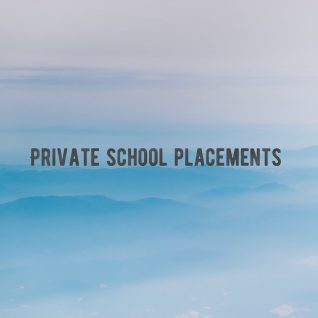 Private School Placements