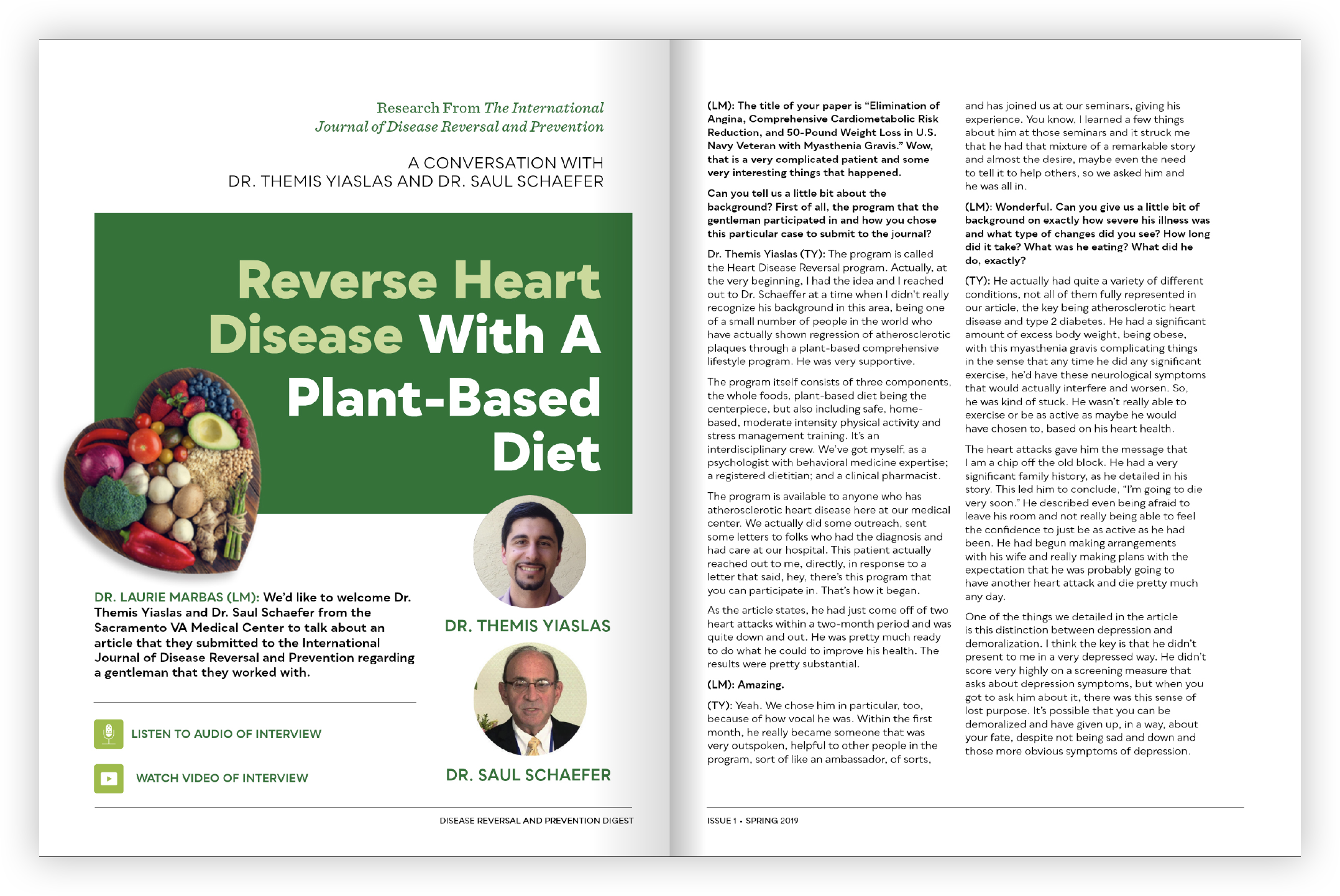 Reverse Heart Disease with a Plant-Based Diet - Themis Yiaslas