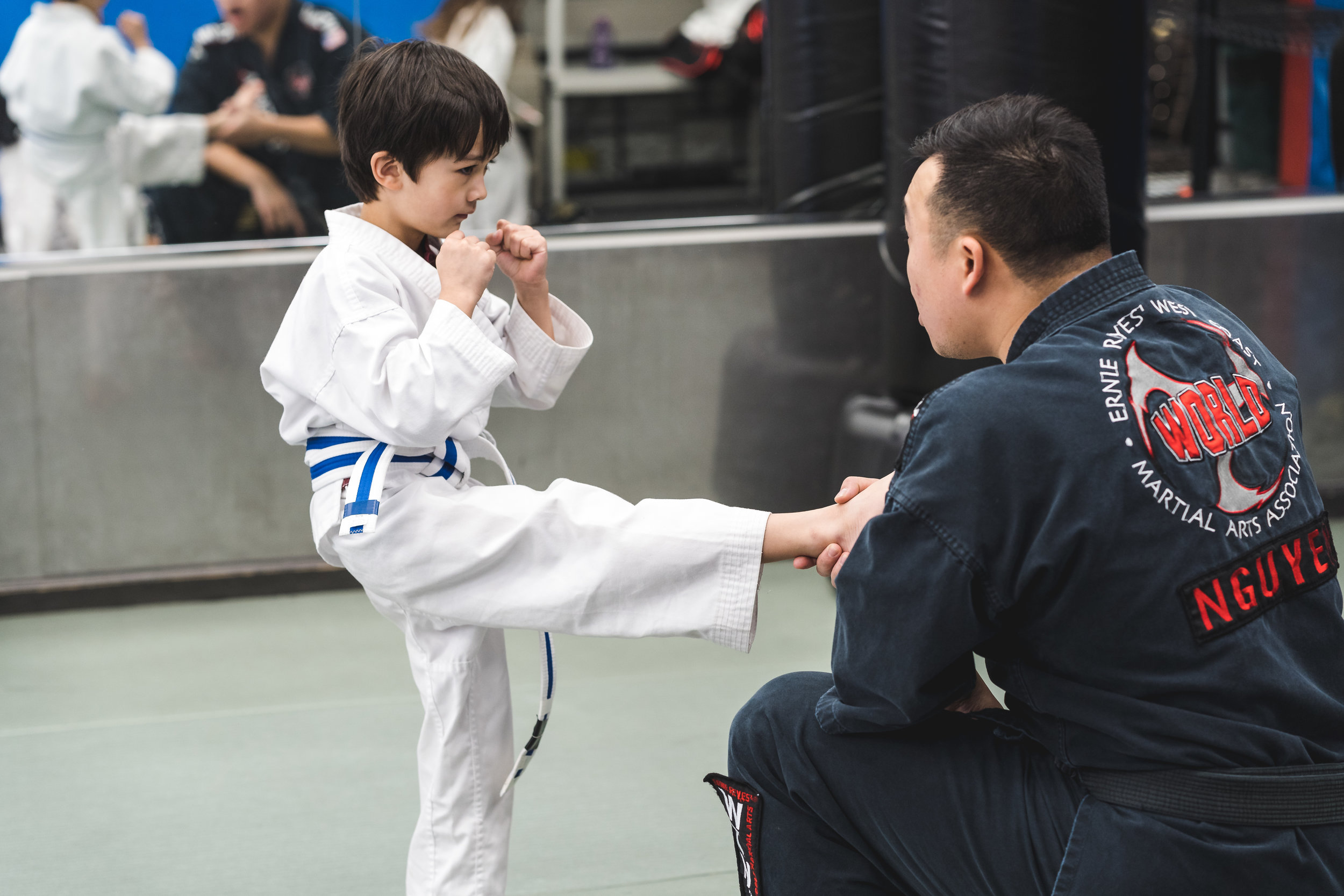 "Parent Testimony! - ""My son has gained a lot of experience in a short amount of time, not only with martial arts, but with character qualities like discipline and focus. The instructors are really terrific and truly show their concern for the kids' growth.""- Arzee Norwood"