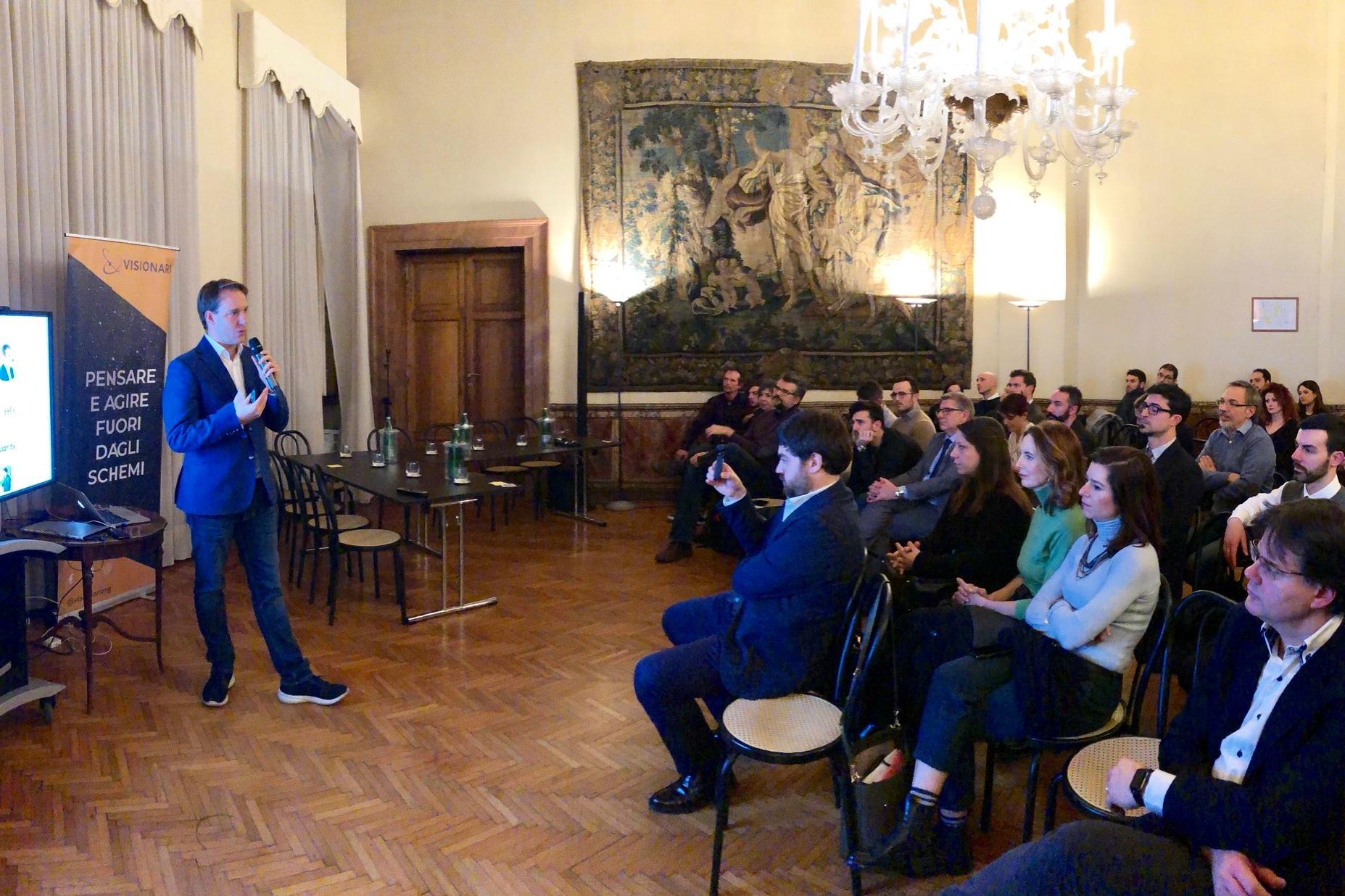 SOCIAL 2.0 - Come possono i Social impattare positivamente la società?Luca La Mesa top Social Media Strategist in Italia ci ha illustrato come i social possano mobilitare migliaia di persone a scopi benefici e come farlo nel modo giusto.Ma siamo sicuro che la direzione presa dalle Major dei social siano pro-society ? Ne abbiamo discusso insieme in un Salon: Social 2.0
