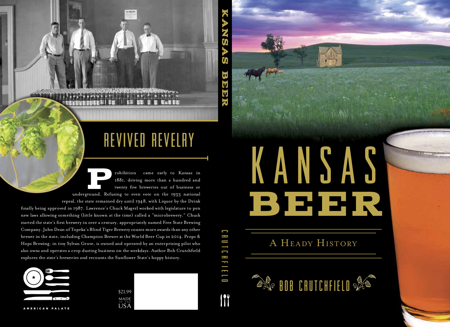 Front and back cover of book.