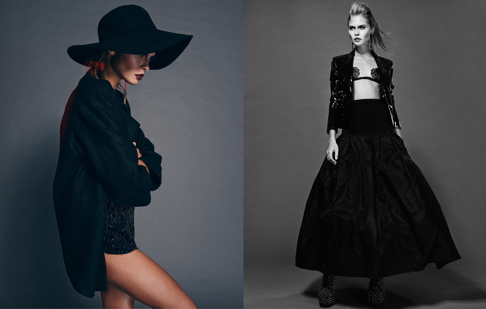 Andreas Ortner Tough love Quality  Magazine Luna Elisa Federowicz Visagistin  Hair-and Make up Artist
