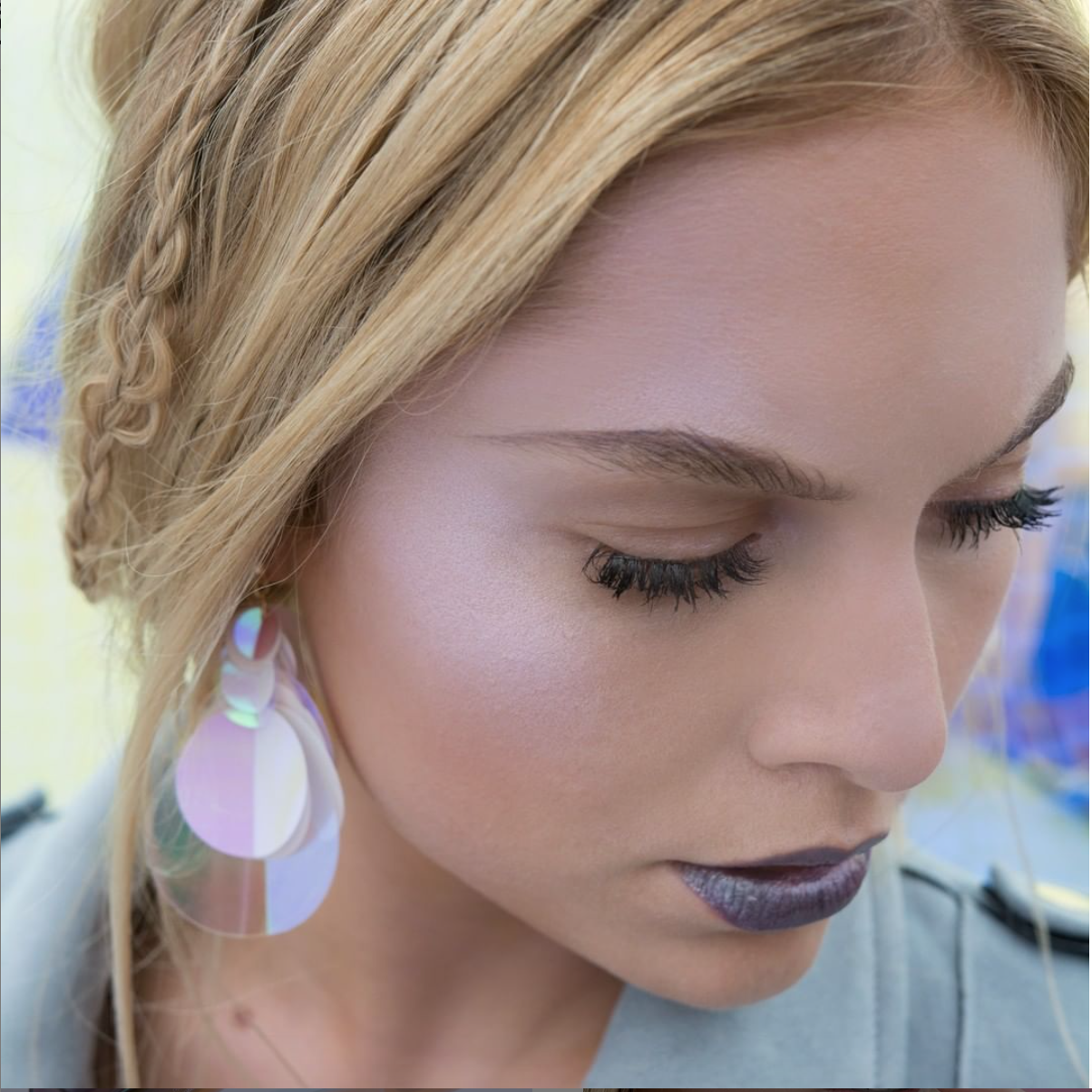 BeYu Cosmetics ARTDECO GROUP Holographic Luna Elisa Federowicz Visagistin Hair- and Make up Artist