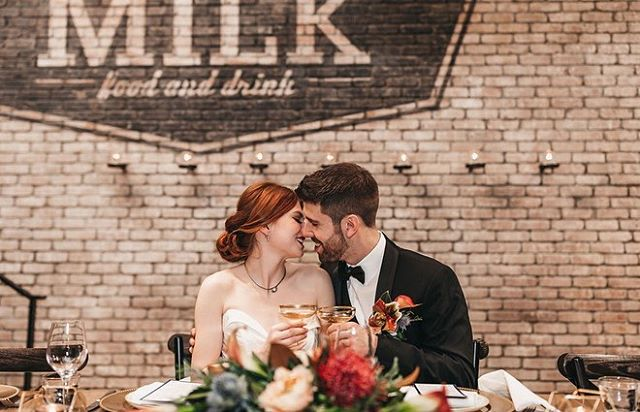 On the Blog   Glam Wedding Inspiration at @modelmilk. • We love this modern, mid century glam wedding inspiration! Follow the link in our bio to see more of this gorgeous shoot by @nicole.fieldphotography and to see the list of talented YYC vendors. ✨