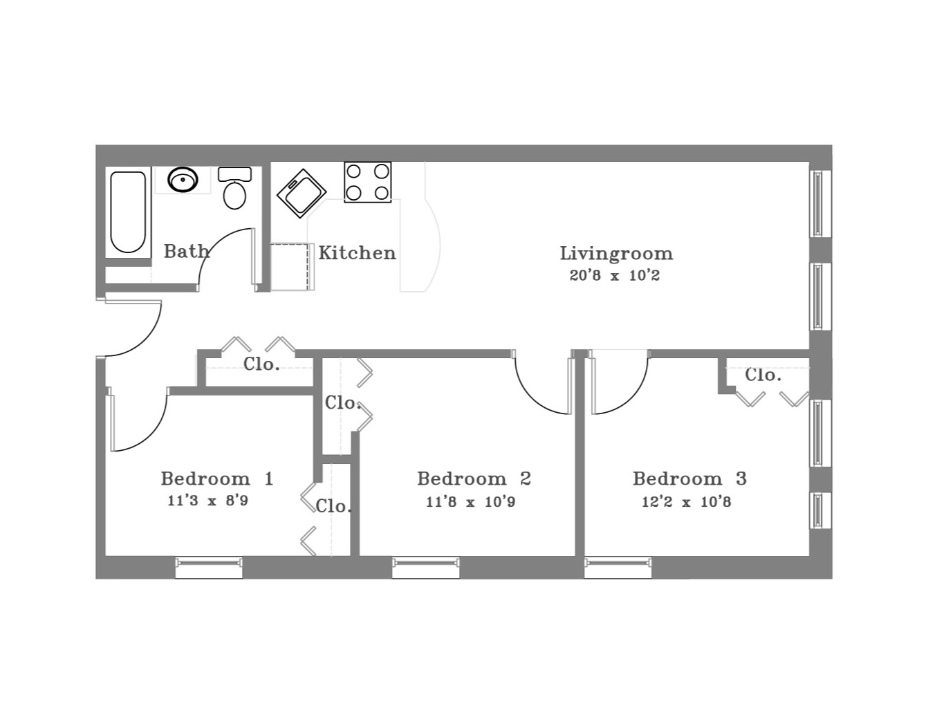 3 Bedroom -