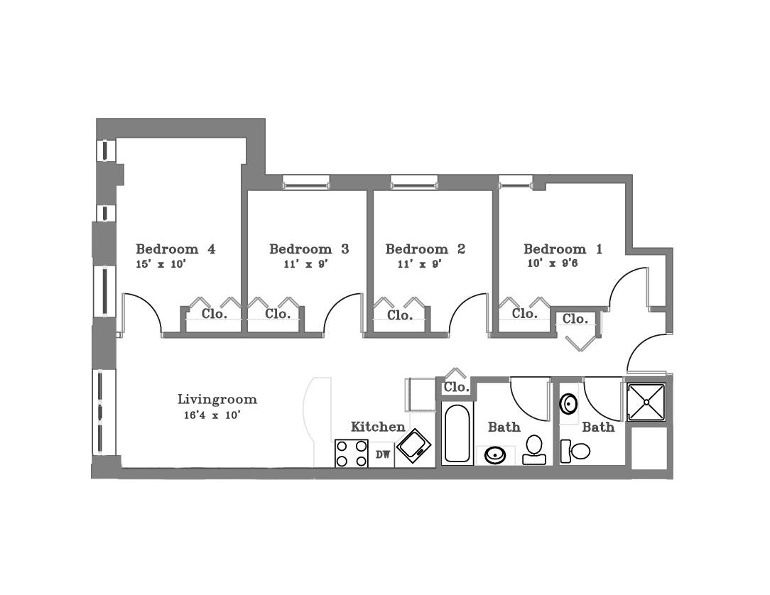 4 Bedroom -