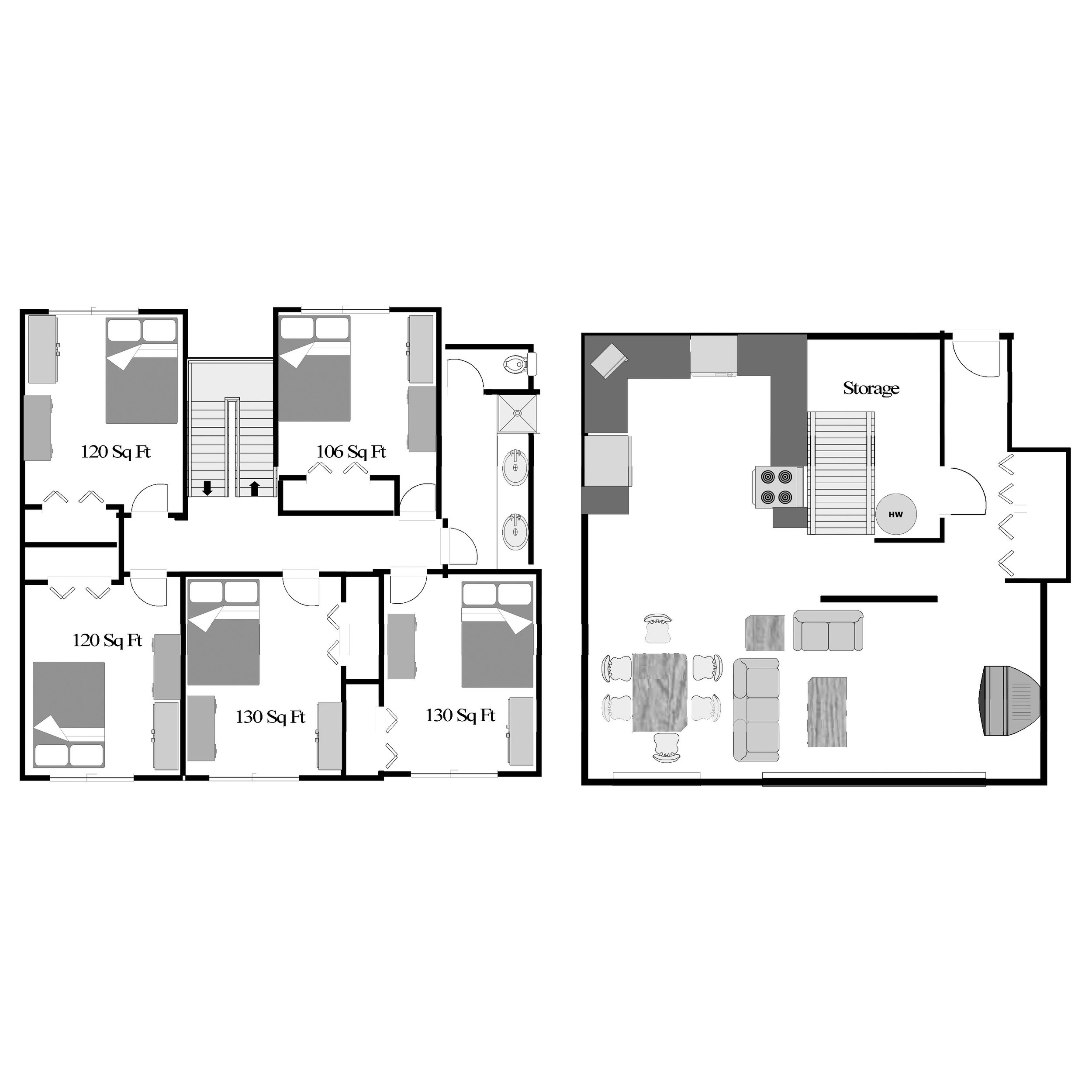 5 Bedroom -