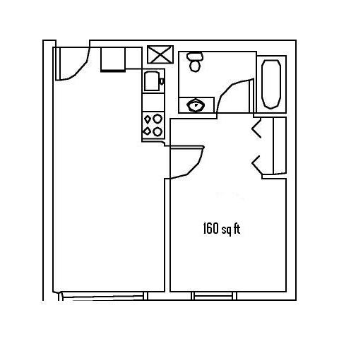 Apartment 1C -