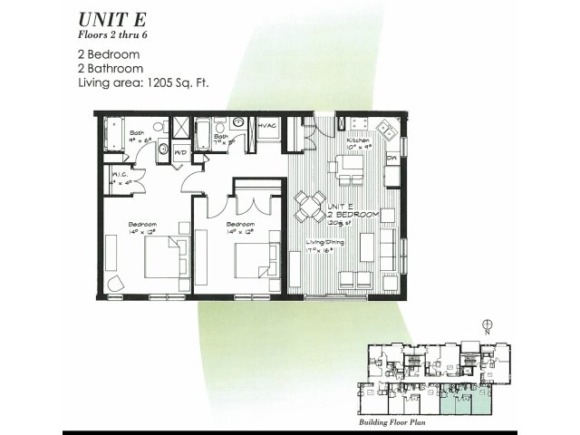 Apartment 2E -