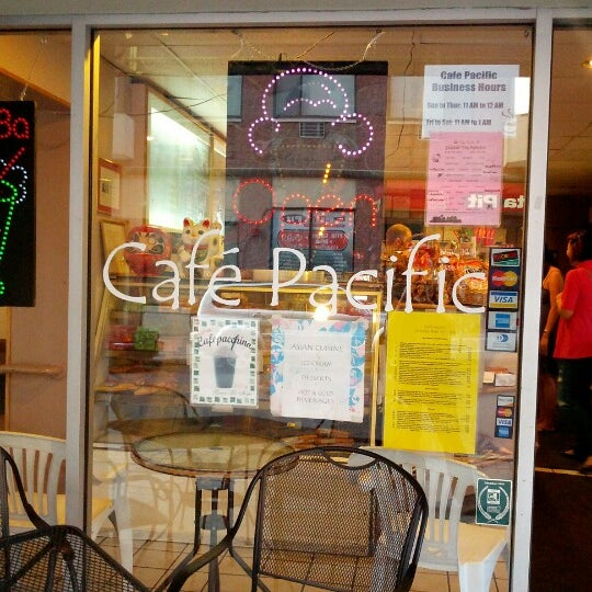 Cafe Pacific - 114 Dryden Rd, Ithaca, NY