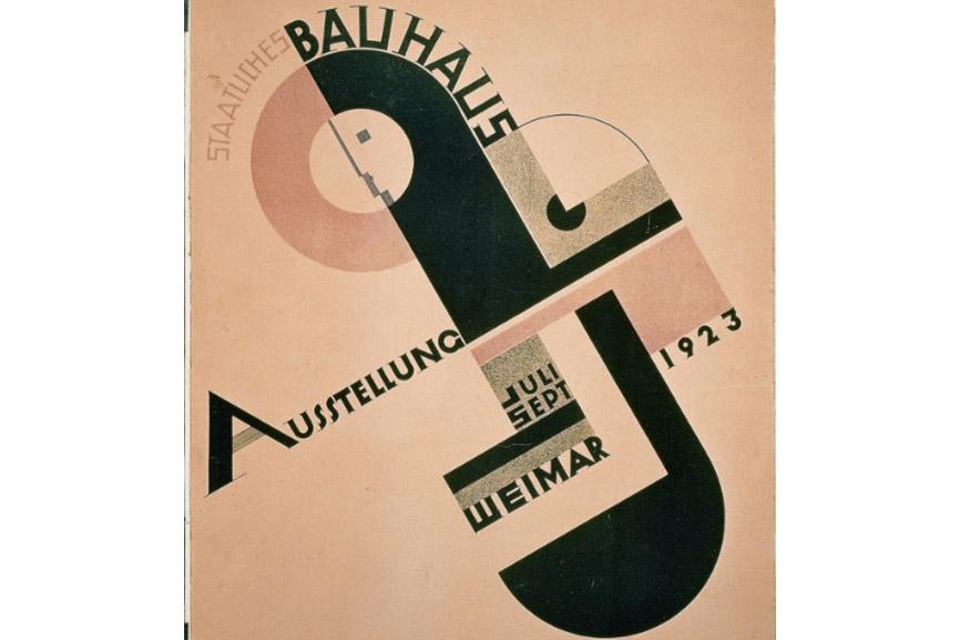 Joost Schmidt's Poster for the 1923 Bauhaus Exhibition in Weimar