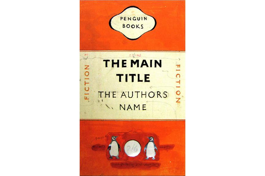 Jan Tschichold's Penguin Books design