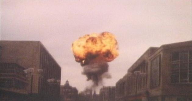 The iconic destruction of Sheffield, UK.