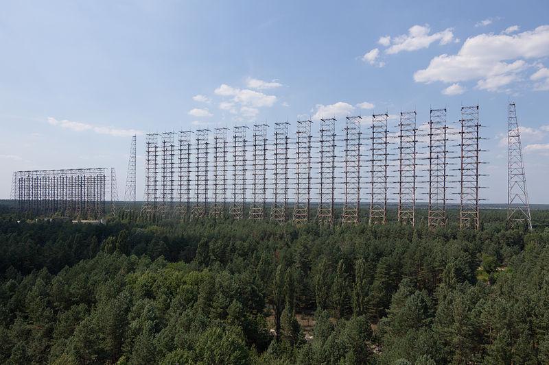 The DUGA radar array.