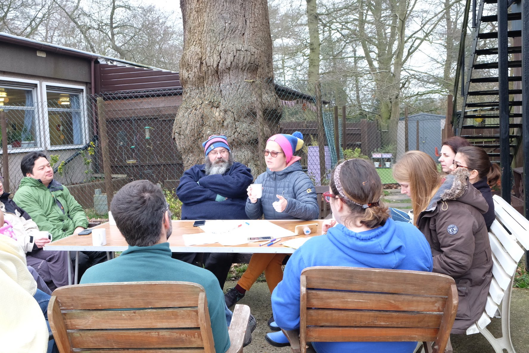 Mel explains how to find your core purpose to parents at the Ordinary Superparents Camp In