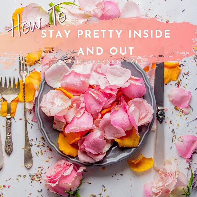 Ladies!!! 🌸✨ Taking care of your #SKIN is probably second nature to you by now!  However, are you taking care of yourself from the inside out?  What you see is a direct reflection of what is happening internally!  Check out the latest post on #SKINTheBlog to Stay Pretty Inside and Out  and  DOWNLOAD your complimentary 4 week SKIN reset calendar at the end!!