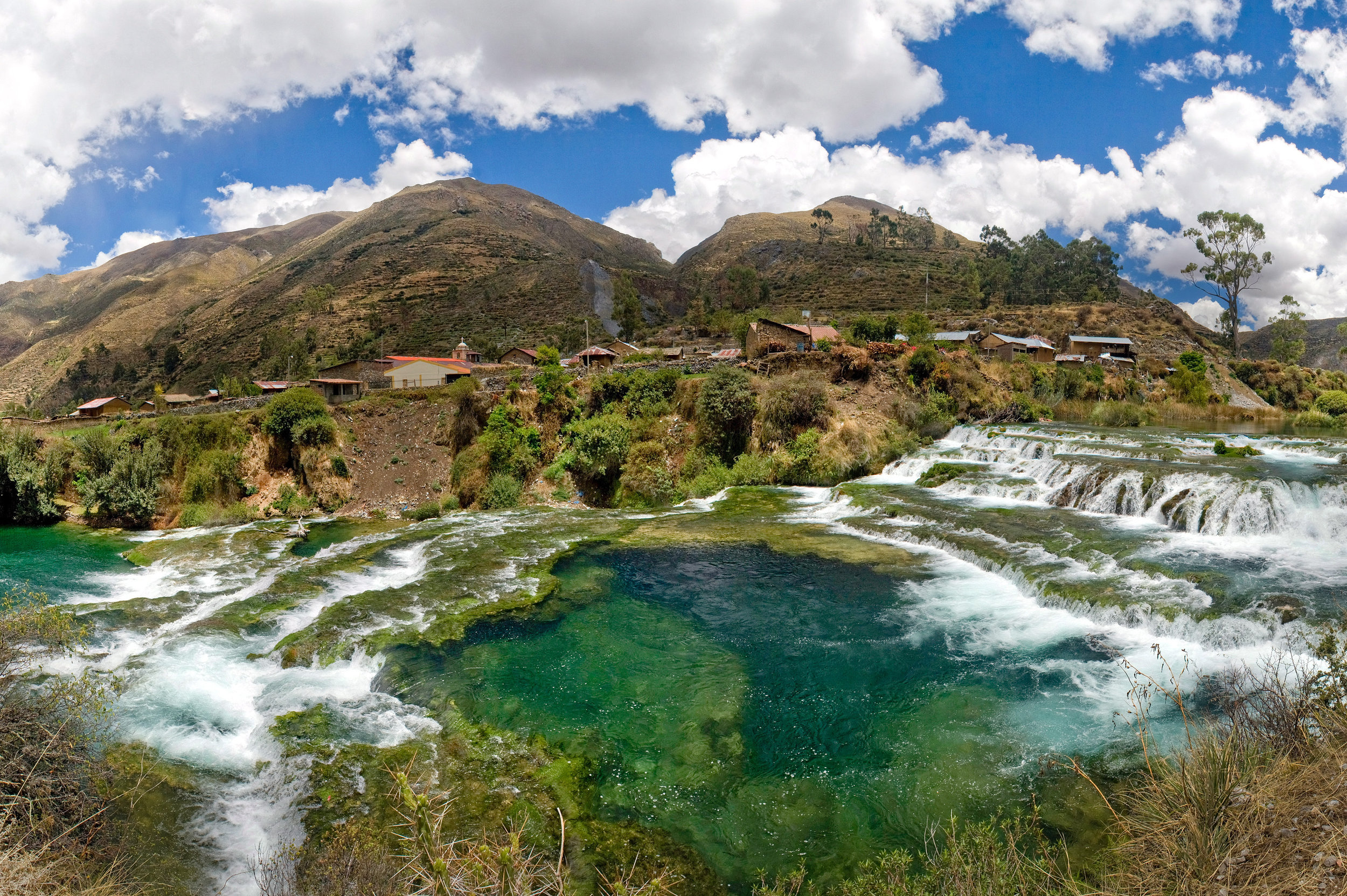 Huancaya - One of the most magical places in peru, just few hour from lima.Start your two days tour in adventures rafting in Lunahuana, then continue to an interesting and experiential trip in Lunahuana winery. On the next day you will take an unforgettable trip to the mesmerizing view of the waterfalls and lakes of Huancaya.