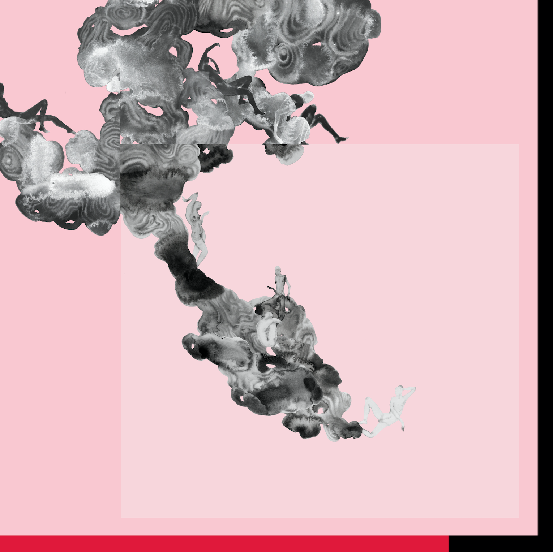Cloud Gate, Digital Collage, 36 in x 36 in