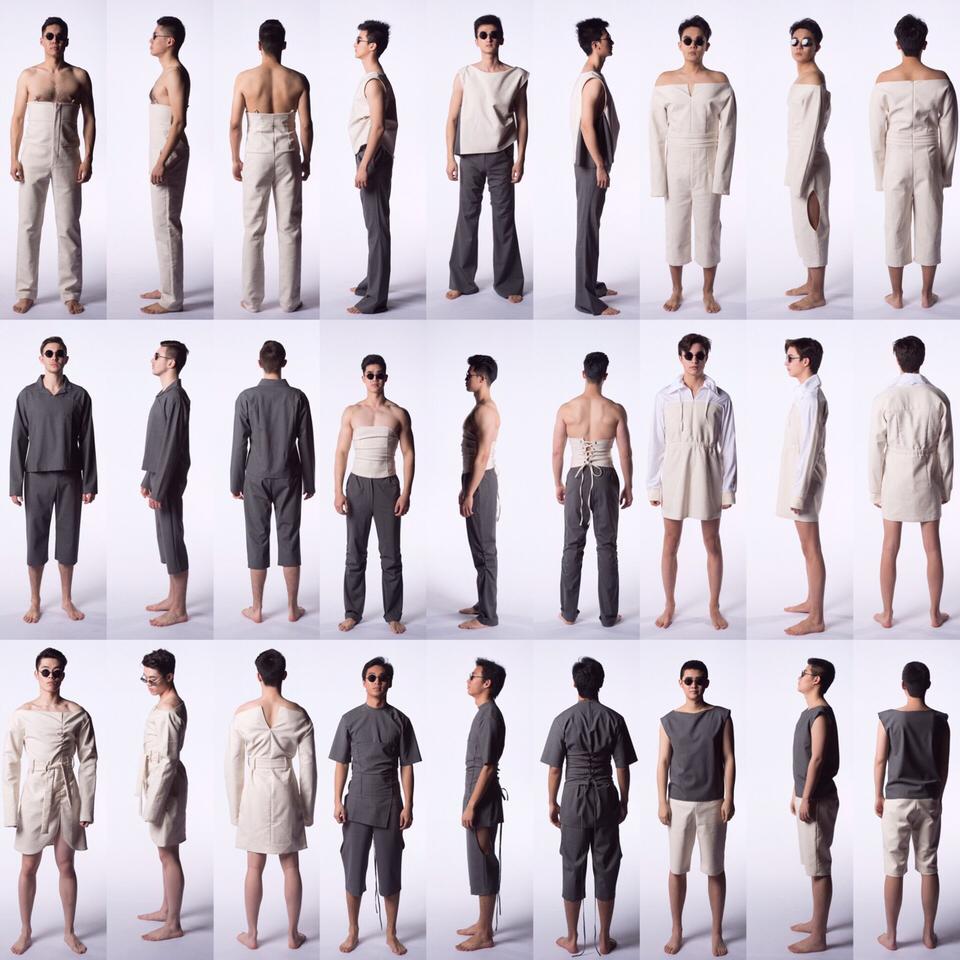 Peasainté, Fashion Design