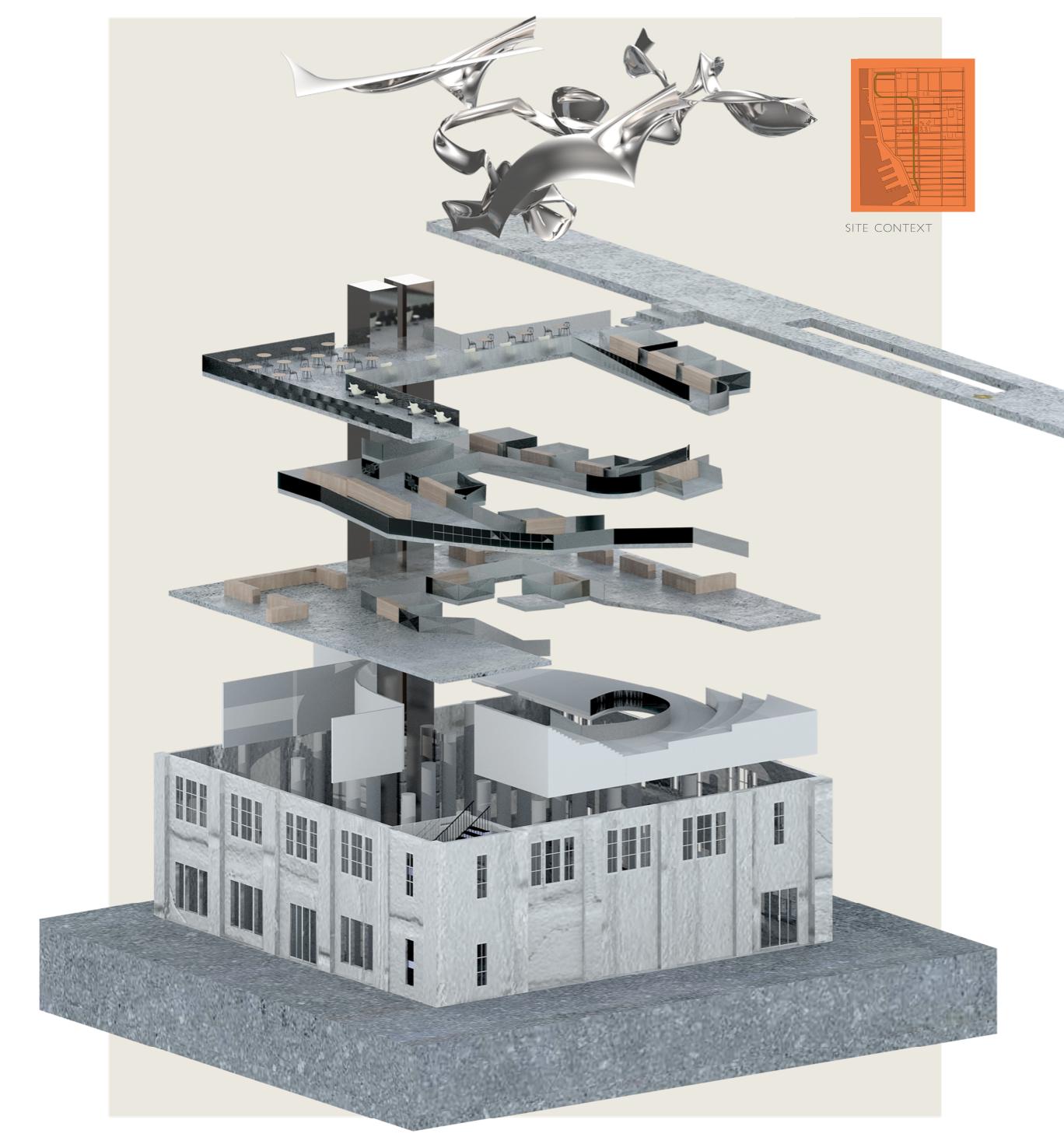 Spatial Network, 2018, Digital Print, 18 in x 12 in